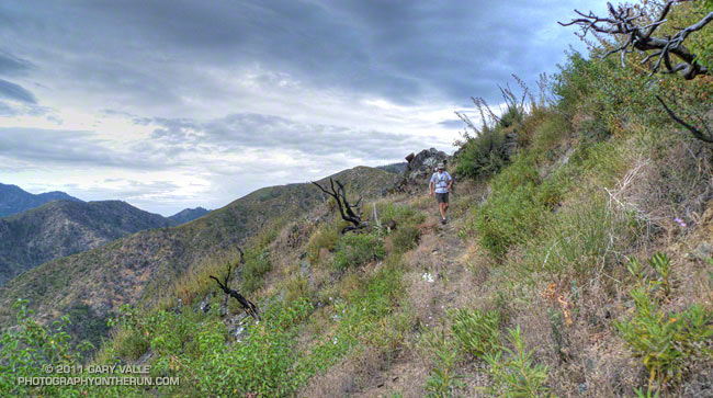 Descending to West Fork on the Silver Moccasin Trail