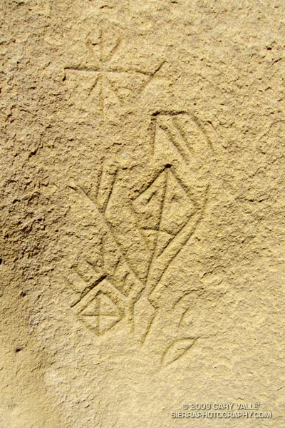 Chumash astronomical petroglyph.