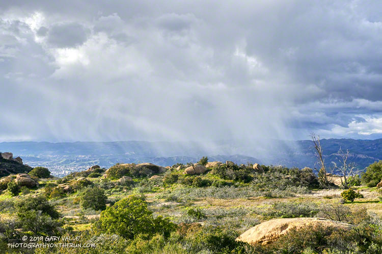 Simi Valley Snow Shower