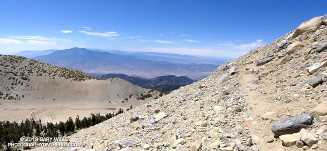 Sky High Trail on San Gorgonio Mountain