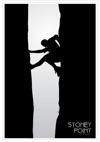Split Rock Stoney Point Poster
