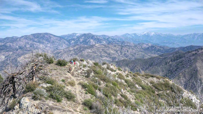 San Gabriel Mountains from Strawberry Peak