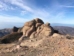 Summit block of Boney Bluff