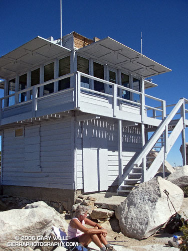 Tahquitz Peak Historic Fire Lookout.