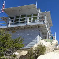 Tahquitz Peak Fire Lookout