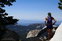 Tahquitz Peak from Wellman Divide