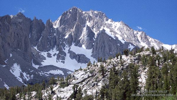 University Peak (13,632') in California's Sierra Nevada.