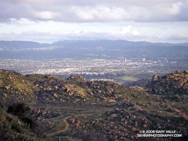 San Fernando Valley from Rocky Peak