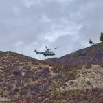 Air Rescue 5 at work again on Angeles Crest Highway