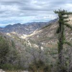 View down Bear Canyon to Arroyo Seco